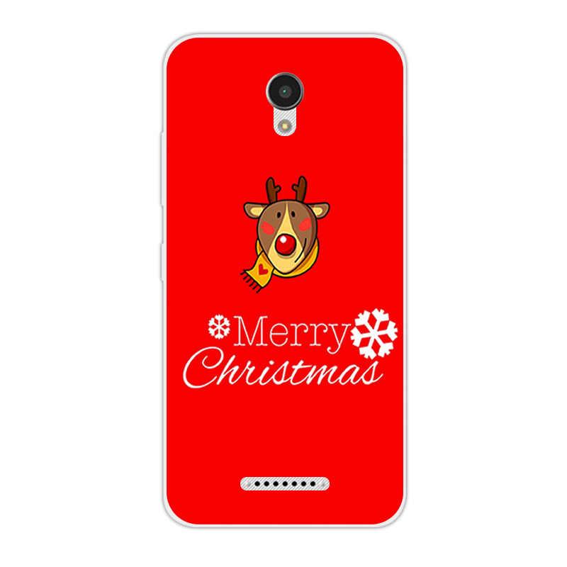 Para Lenovo Vibe B A2016 A1010 A20 un Plus APlus A1010a20 1010 A2016A40 del teléfono del TPU de la noche de Navidad para lenovo un Plus A1010