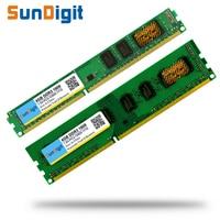 Brand SunDigit Memory Ram 1 5v DDR3 1600Mhz 8GB 4GB 2GB For Desktop Memoria PC3 12800