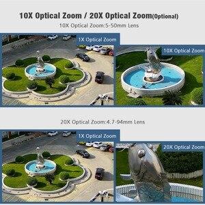 Image 2 - HD 2MP Draadloze PTZ Dome IP Cam WIFI 10X/20X Optische Zoom Outdoor Beveiliging Video CCTV Cam Twee Manier audio Wit Licht 80M IR