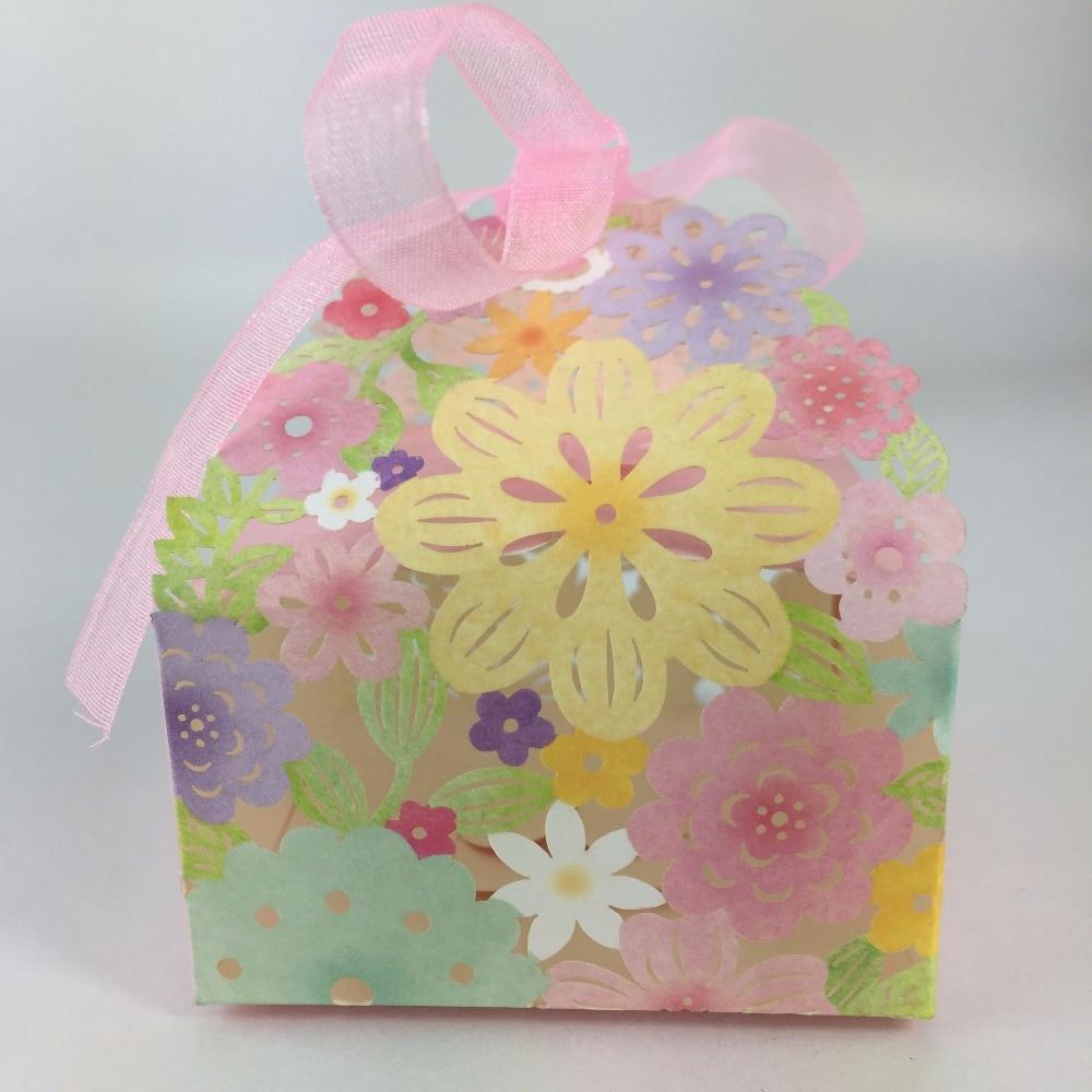 Custom made vide cadeau de mariage cadeau de sucrerie boîtes avec couvercles boîte de mariage dans Party Favors de Maison & Jardin