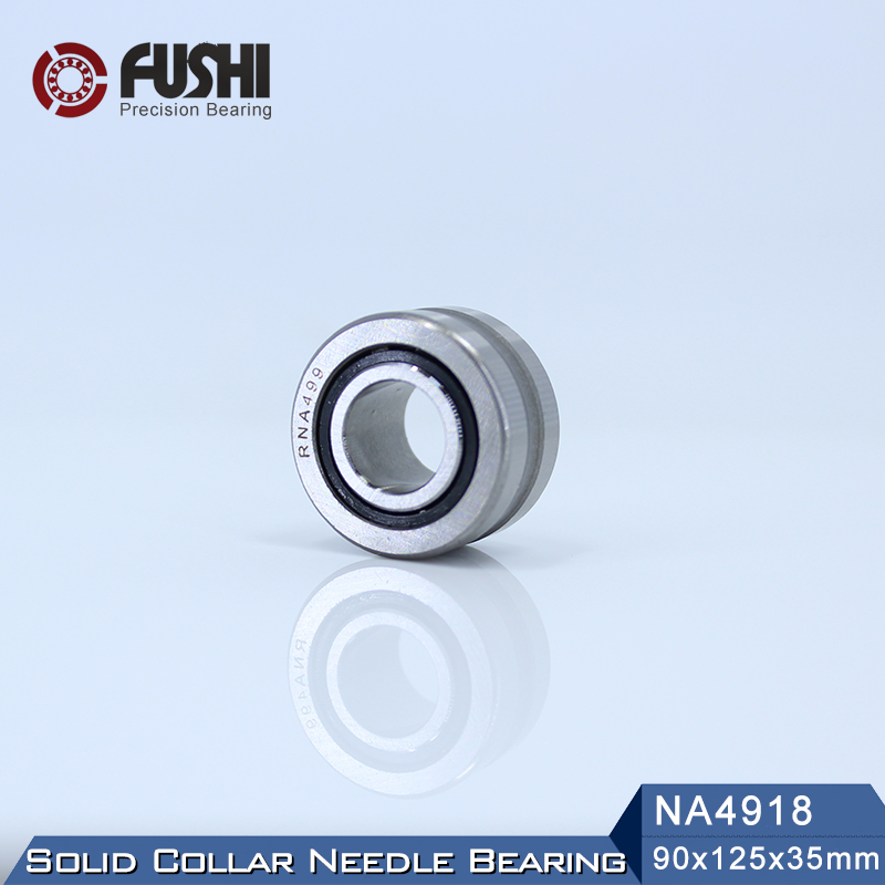 NA4918 Bearing 90*125*35 mm ( 1 PC ) Solid Collar Needle Roller Bearings With Inner Ring 4524918 4544918/A BearingNA4918 Bearing 90*125*35 mm ( 1 PC ) Solid Collar Needle Roller Bearings With Inner Ring 4524918 4544918/A Bearing