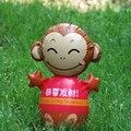 """Год обезьяны мультфильм обезьяна """"дарума"""" Надувные игрушки надувные ребенок родитель-ребенок интерактивные игрушки животные"""