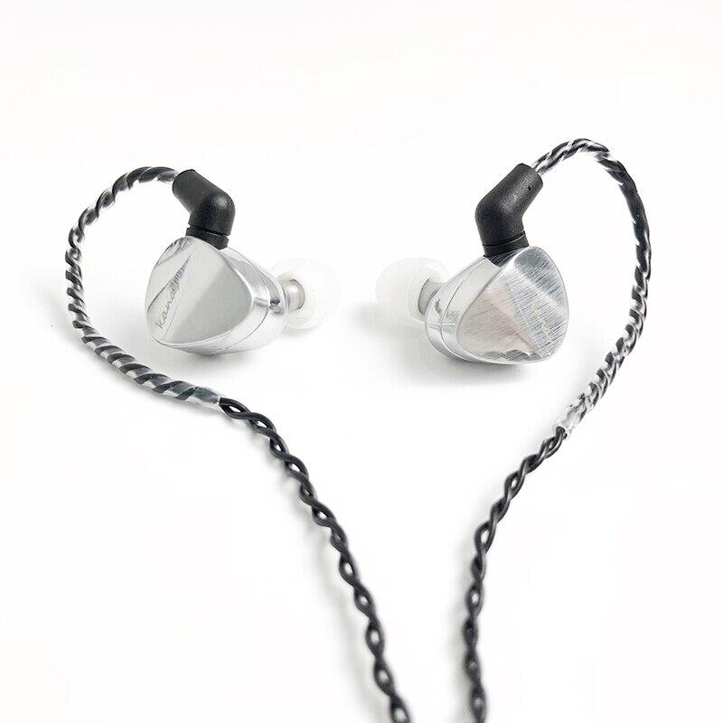 Moondrop Kanas DLC Cable-Detachable Dynamic In-ear Earphone moondrop kanas dlc cable detachable dynamic in ear earphone