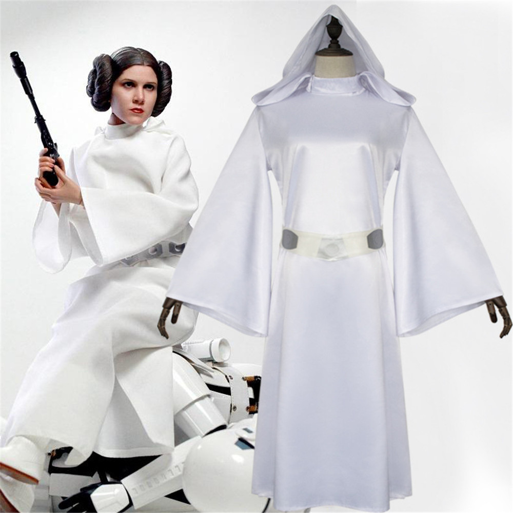 Star Wars Halloween Costumes.Us 27 99 30 Off Star Wars Costume Princess Leia Cosplay Costume Women Soldier Uniform Halloween Costume For Women Hot Movie Fancy Dress In Movie