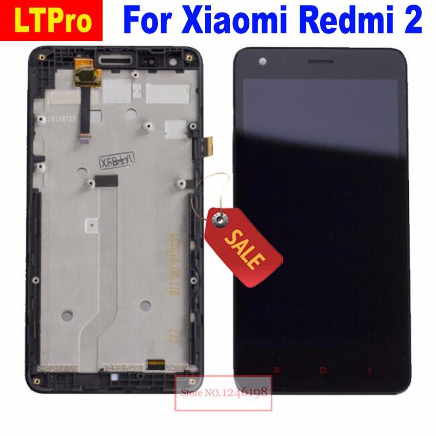 LTPro 4.7 ''LCD Full Display Touch Screen Digitizer Assembly con Frame Per Xiaomi Redmi 2 Parti Del Telefono