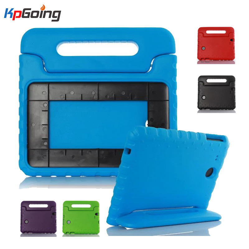 For Samsung Galaxy Tab E 9.6 Case T560 Shockproof EVA Foam Protective Cover For Samsung Tab E 9.6 SM-T560 Cute Kids TV Stand
