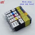 1set PGI-520 CLI-521 PGI520 compatible Ink cartridges for canon PIXMA IP3600 IP4600 IP4700 MX860 MP540 MP550 MP560 MP620 MP630