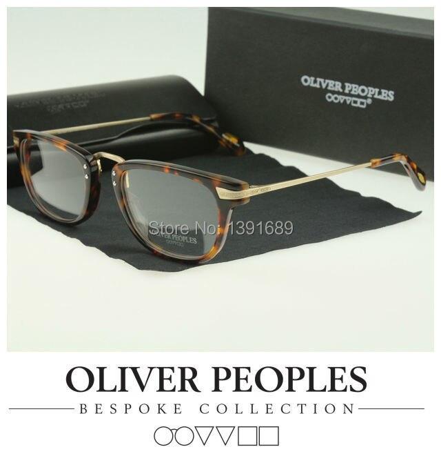Oliver peoples 5029 Vintage myopia glasses frame Men/women Retro plate eyeglasses Fashion eye - Shenzhen 007 international CO.,LTD store