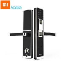 Original Xiaomi Aqara Mijia Smart Door Touch Lock ZigBee Keyless Fingerprint Password 4in1 Mi Home App
