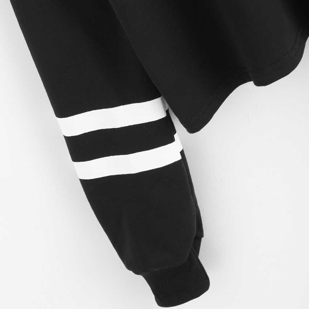 Rozproszonego dzieci moda Kpop przycięte bluza kobiety Off ramię z długim rękawem bluzy 2019 Hot sprzedaż Casual Streetwear ubrania