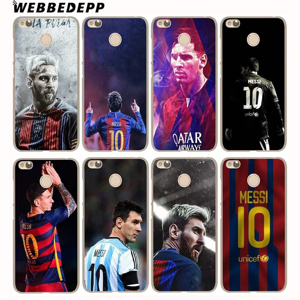 WEBBEDEPP Neymar Messi Football Soccer Cover Case for Xiaomi Mi6 5S A1 5X Redmi Notr 4 3 Pro 4A 5A 4X 5 Plus 3 Pro 3S