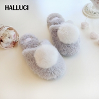 Winter New Sweet Home Slippers Shoes Woman Indoor Women Couples Slippers Cute Keep Warm Women Sneakers