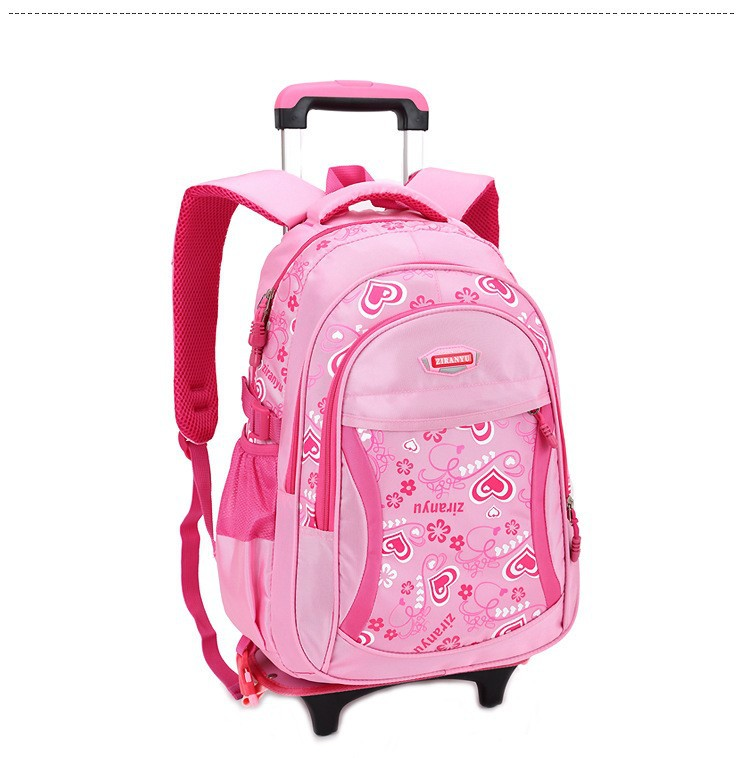 38b82762d3e Rolling school backpacks girls and boys trolley bags school bag wheels  backpack schoolbag teenage girl bookbag mochila bolsosUSD 59.98-67.98 piece