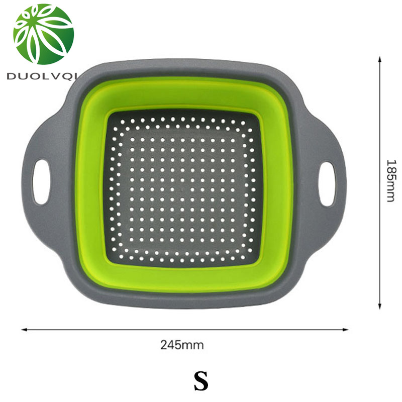 Duolvqi-Foldable-Fruit-Vegetable-Washing-Basket-Strainer-Portabl-Silicone-Colander-Collapsible-Drainer-With-Handle-Kitchen-Tools