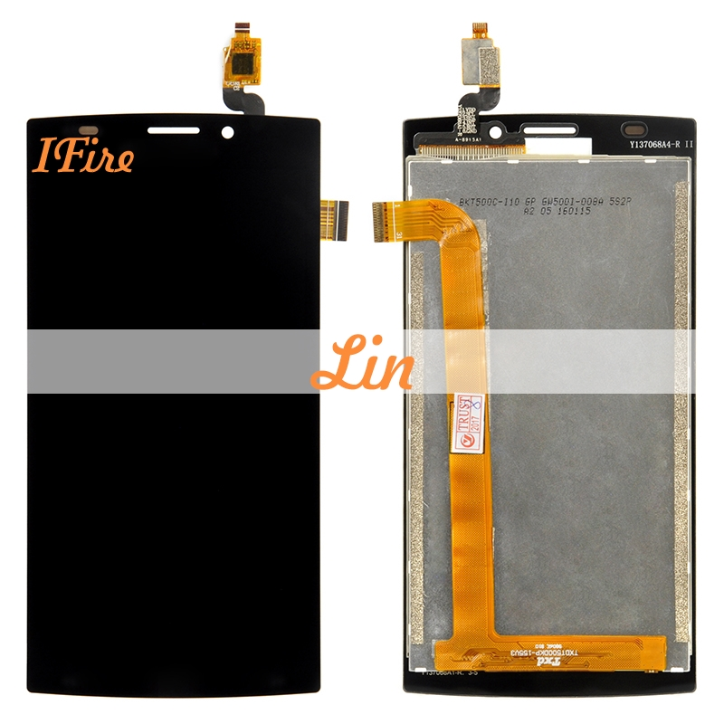 1pcs IFire S337 lcd screen replacement for philips S337 lcd display with touch screen panel digitizer assembly free shipping