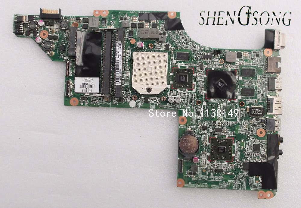 Free shipping 605497-001 motherboard for HP DV7 DV7-4000 Laptop motherboard DA0LX8BM6D0 100%full tested ok, цена и фото