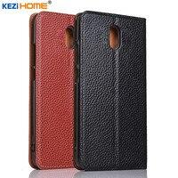 Case For Nokia 2 For Nokia 3 For Nokia 5 For Nokia 6 KEZiHOME Litchi Genuine