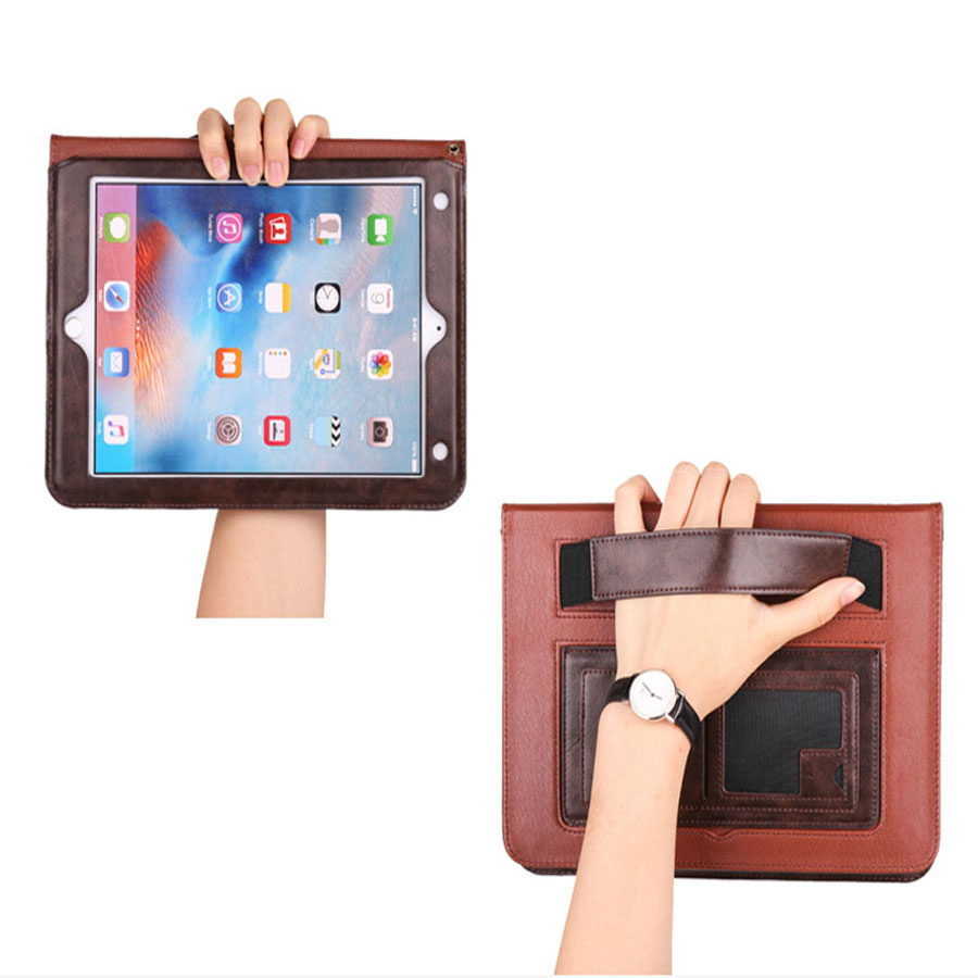 Luxury PU Leather Case For iPad 2 3 4 Flip Book Kickstand Cases Auto Wake/Sleep Function Smart Cover for iPad 4 3 2 Tablet Coque colorful print 7 9 mini tablet flip leather case for ipad 2 3 magnet auto sleep function protectors