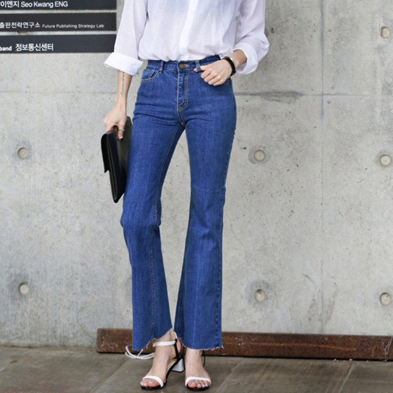 Online Buy Wholesale high waisted bell bottom jeans from China ...