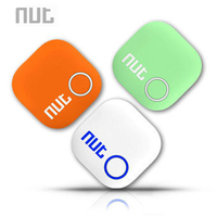 Nut 2 Smart Tag Bluetooth Tracker Anti-lost Pet Key GPS Finder Alarm Locator Valuables as Gift For Child ( White/ Green/ Orange)