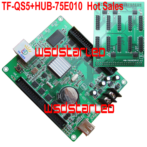 TF TF QS5 HUB 75E010 1 32 Scan USB Lan port RGB LED screen controller 320