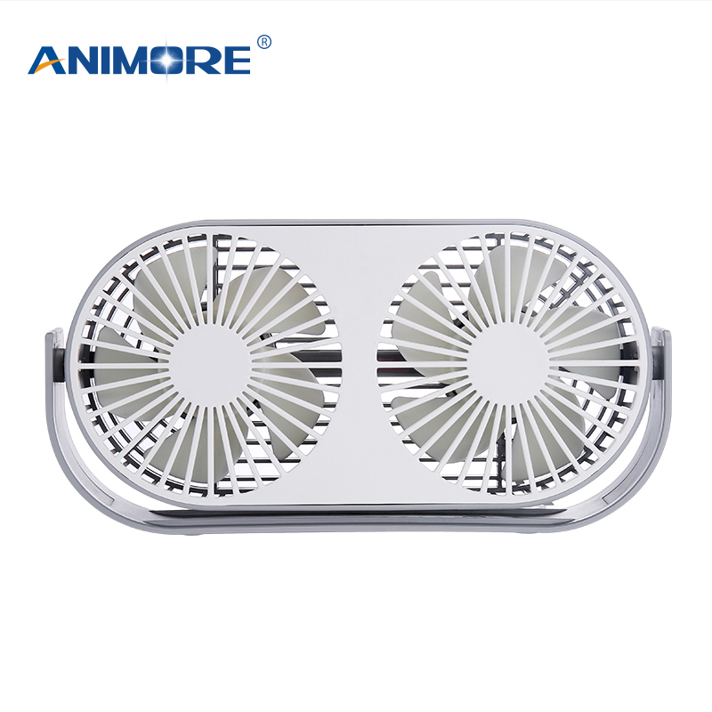 ANIMORE USB Electric Fan Double Leaf Fan MINI New Aromatherapy 3 colors Optional Computer PC Home Office Available FanANIMORE USB Electric Fan Double Leaf Fan MINI New Aromatherapy 3 colors Optional Computer PC Home Office Available Fan
