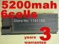 5200 мАч 6 ячеек Батареи Ноутбука Для Dell Latitude D620 D630 D631 M2300 KD491 KD492 KD494 KD495 NT379 PC764 PC765 PD685 RD300 TC030