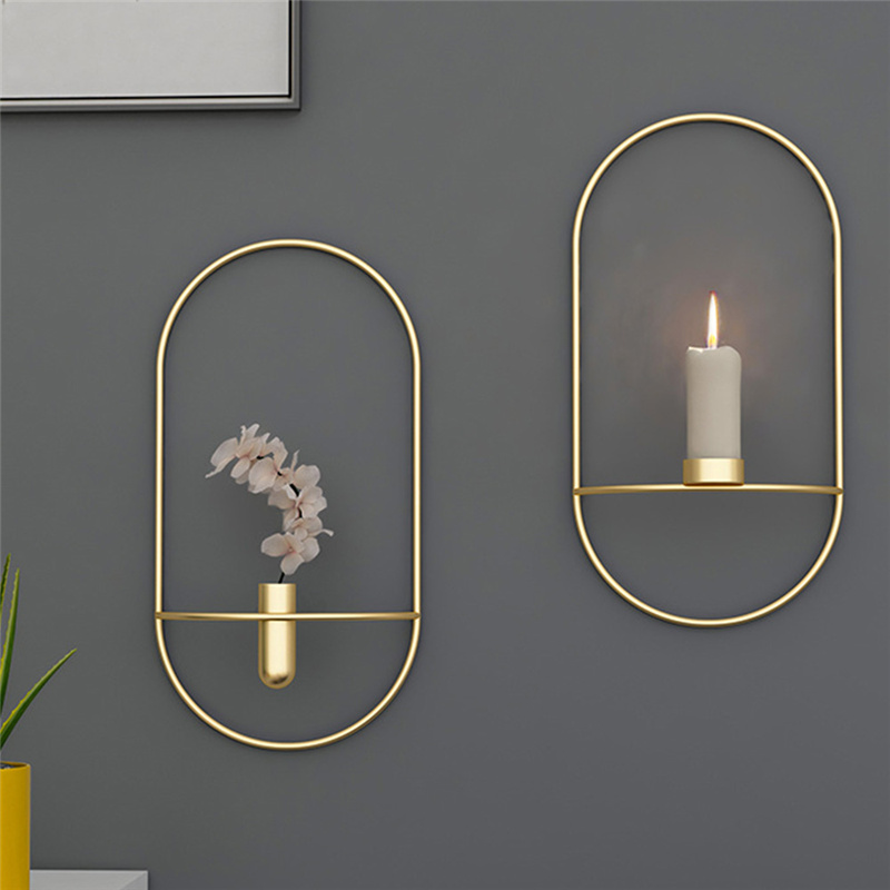 Dangling Room Wall Decor Candle Holder