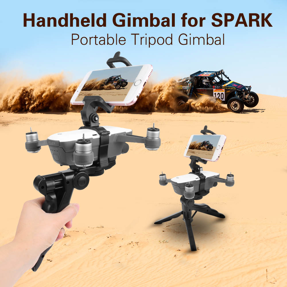 Quick Release Handheld Gimbal Portable Tripod Gimbal Stabilizers For DJI SPARK