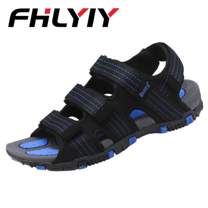 Casual Sandals Fashion Shoes Men Summer Mesh Breathable Sandalias Beach Water Mens Shoe Mixed Colors Slippers Sapato Masculino