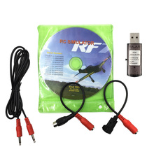 10pcs/pack Hot sell 22in1 RC USB Flight Simulator Cables support G7 / G6 G5.5 G5 PH5.0 Flysky FS-I6 FS-TH9X FS-T6 FS-CT6B
