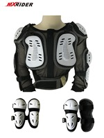 For Age 6 10 Youth Full Set Forcefield Motocross Protection Pro BIKE Body Armor Protector Jacket