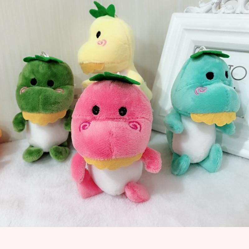 Cartoon Little Dragon Dinosaur Plush Toys For Children Mini Plush Toy Keychain Doll Decoration Pendant Random Color Woodworking Machinery & Parts