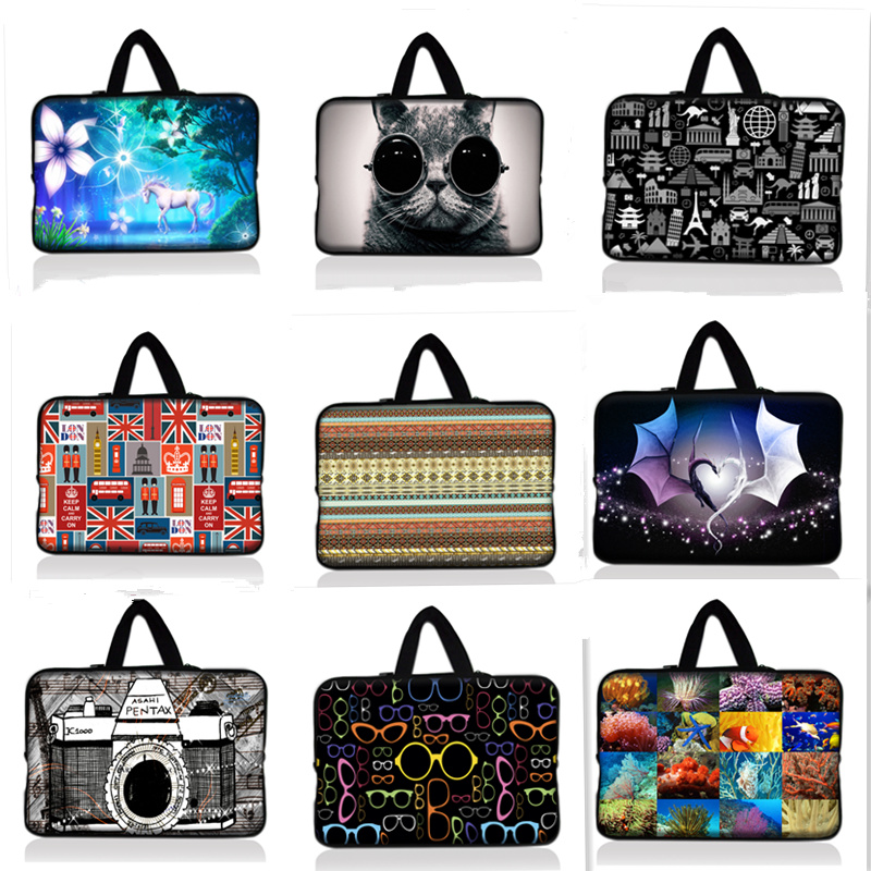 Neoprene Laptop Case Sleeve Notebook PC Soft Cover Bag Pouch 10 13 14 15 17 inch
