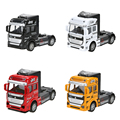 1:32 Scale Alloy Truck Head Pull Back Alloy Car Model Children Toy Gift