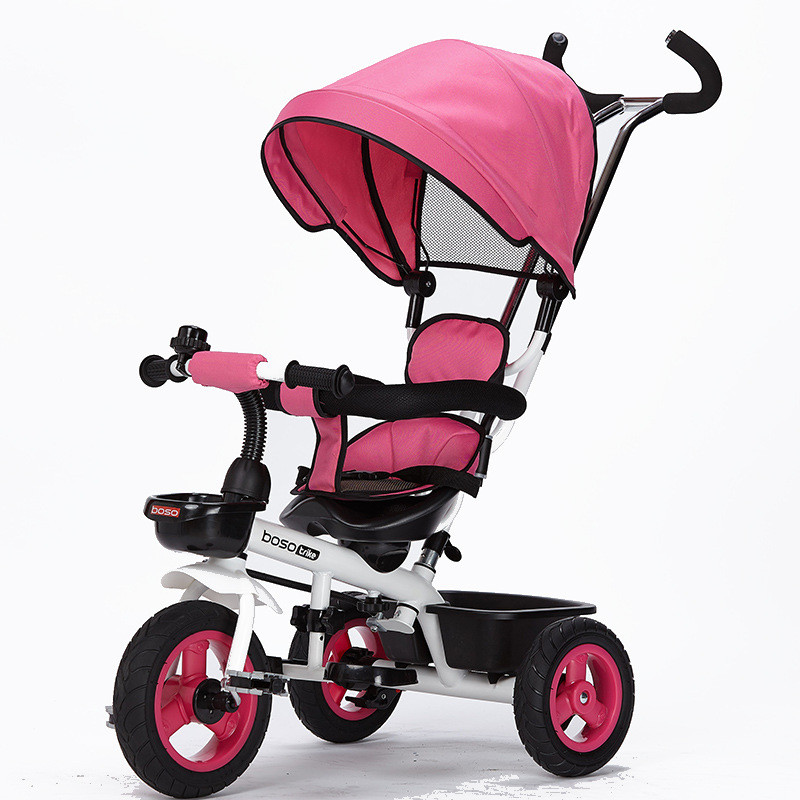 Hot Sell Seat 360 Degrees Rotated Baby Push Baby Stroller Multicolor Child Bike Commutatable Handle Kids Tricycle Free Drop Ship12