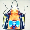2016 Bar Vestido de Festa CHURRASCO Avental Engraçado Da Novidade Sexy Unisex rindo Presente Legal Homens Nus Mulheres Adorável Rude Insolente Aventais Multicolor