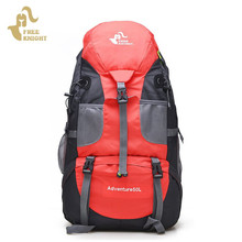 Free Knight 50L Waterproof nylon Unisex Outdoor camping hiking Climbing mountaineering Backpack Foldable Travel Sport Bags