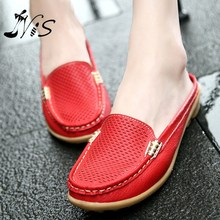 Hight Quality Leather Flip Flops Womens Sandals New Summer Women Shoes Woman Platform Wedge Ladies High Heel Shoes Beach Sandal