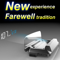 2018 New Car HUD OBD2 II EUOBD Head Up Display Overspeed Warning System Projector Windshield Auto Electronic Voltage Alarm