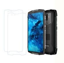 Protetor de tela de vidro temperado para smartphone, 2 peças 9h para blackview bv6800 pro bv6800pro, capa protetora original de tela, telefone