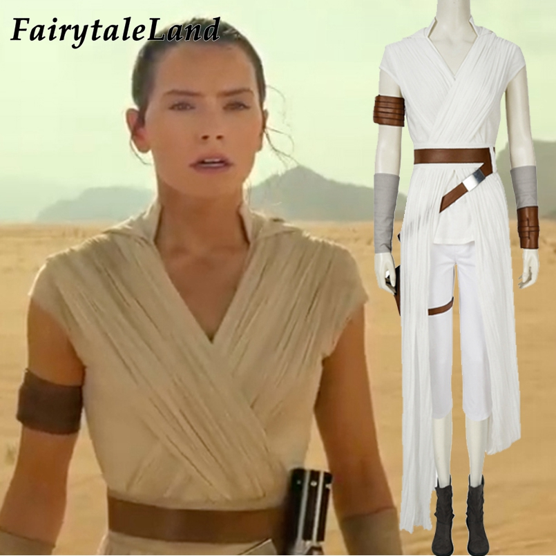 The Rise of Skywalker Multi Star Wars Rey Costume for Girls