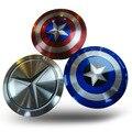 Capitán América shield Multicolor lindo móvil banco de la energía 7000 mAh capacidad cargadores de batería portátil