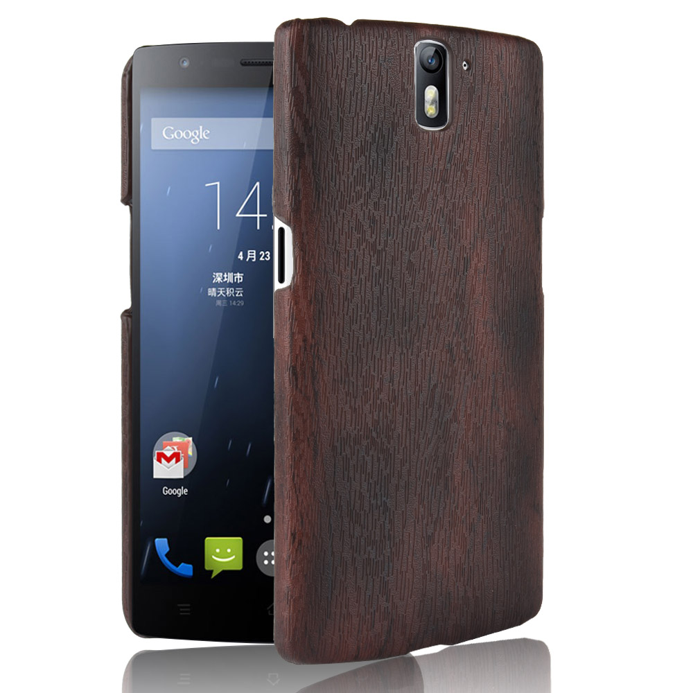 subin New for OnePlus One Case 5.5 inch PU Wood grain mobile holster for 1+ One Plus One A0001 phone case