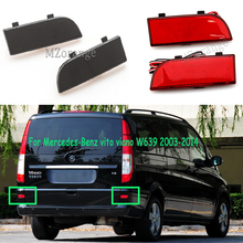 for Mercedes-Benz vito viano W639 2003-2014 rear bumper lights tail brake stop lamps taillights light