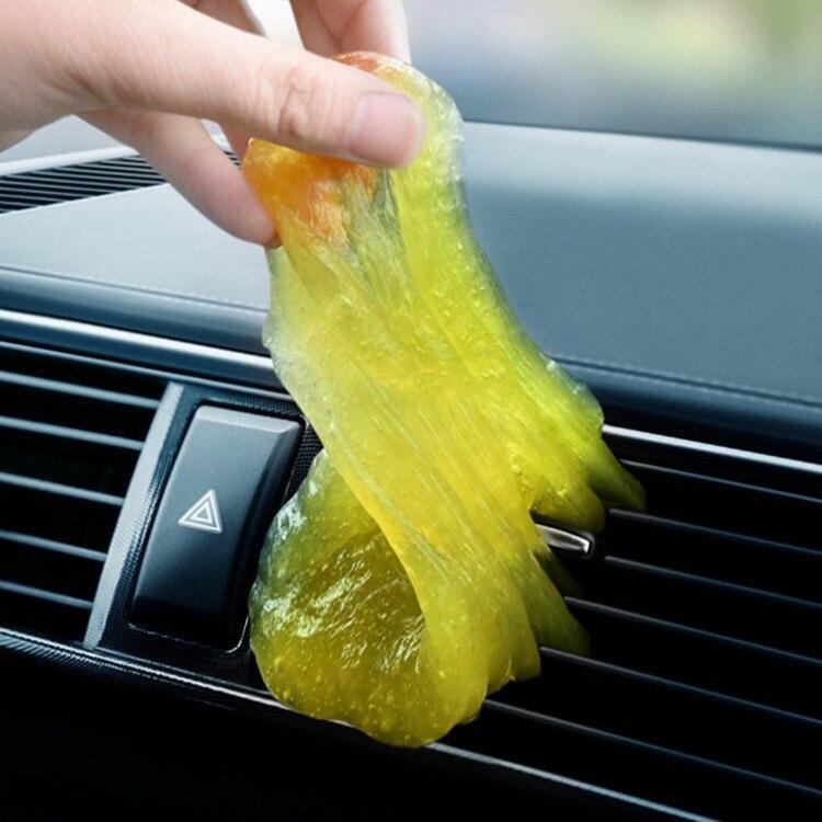 Автомобильный чистый клей гелевые наклейки для BMW F10 F30 E60 для Ford Focus для VW Polo для Mazda клавиатура грязь пыль адсорбционный очиститель