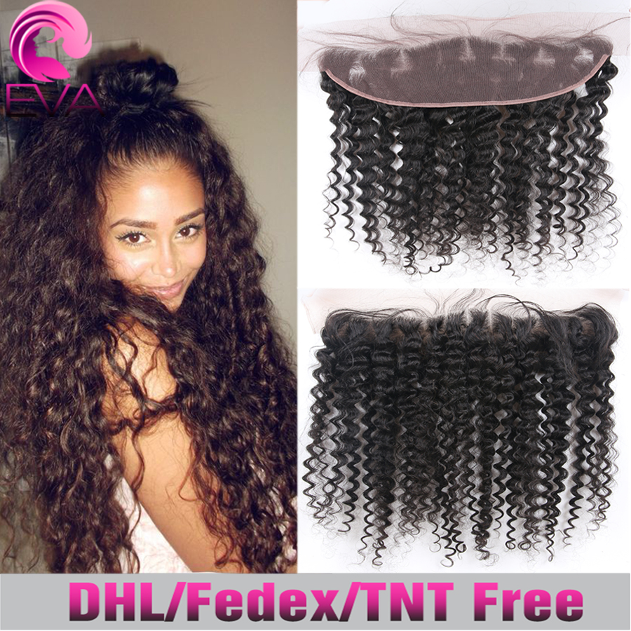 Best Lace Frontals Piece 13x4 Brazilian Hair Deep Wave Full Lace