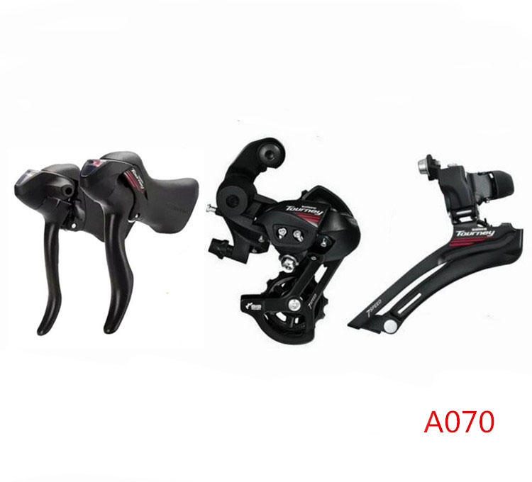7288309902a SHIMANO AO70 2x7 Speed Road Bike Shifter Switch Kit Bicycle Transmission  Control Handle Sprocket Bicycle Spare Parts Kit-in Bicycle Derailleur from  Sports ...