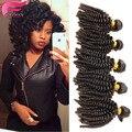 Весна спираль curl weave монгольский тетушка fummi локоны али королева монгольский спираль вьющихся волос 3 связки человеческих волос