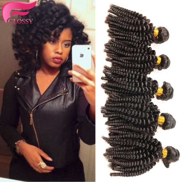 Spring Spiral Curl Weave Mongolian Aunty Fummi Bouncy